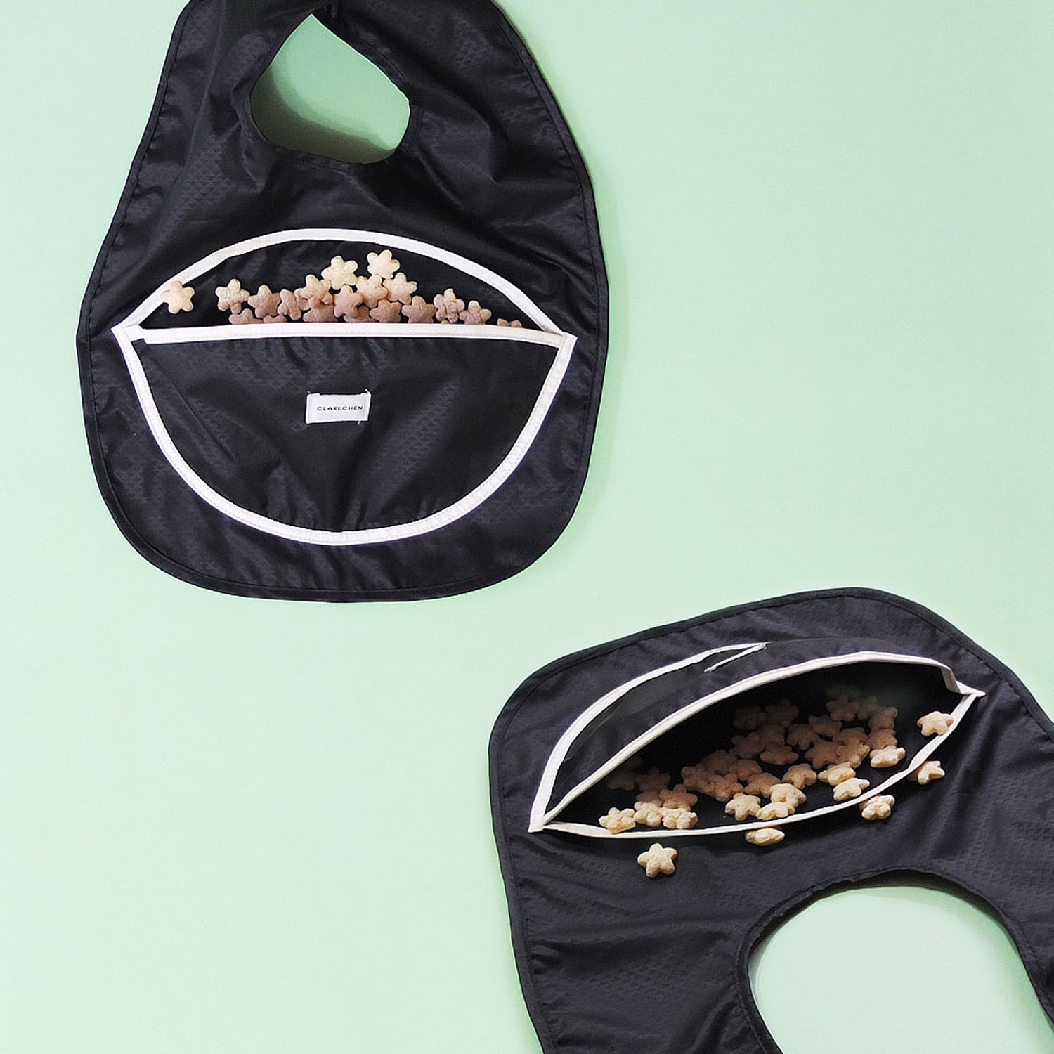 SNACK BIB_BLACK BOWL